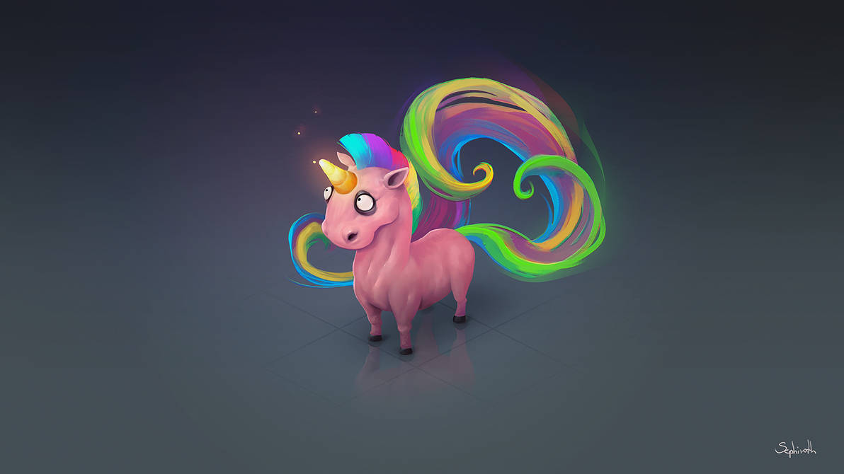 Magic Unicorn By Sephiroth-Art On DeviantArt