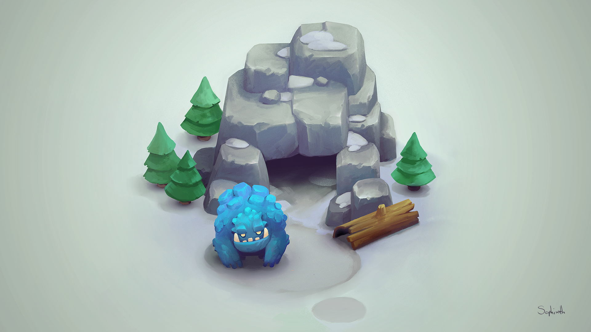 ICE TROLL CAVE