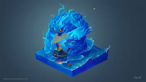 Isometric Sea Creature