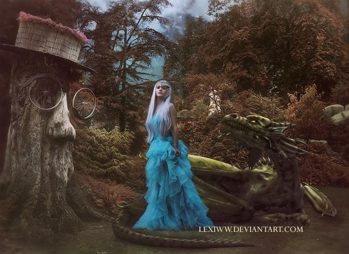 Dragon by lexiww