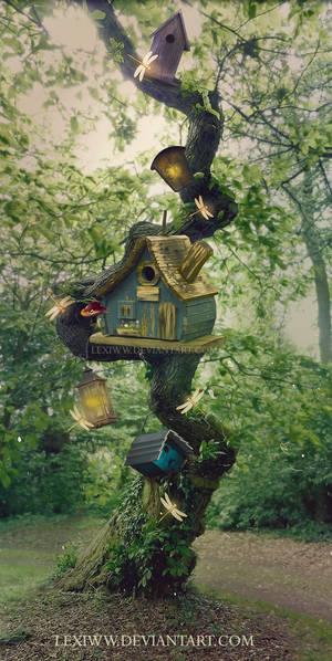 Bird houses by lexiww