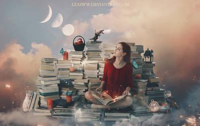 Bookworm by lexiww