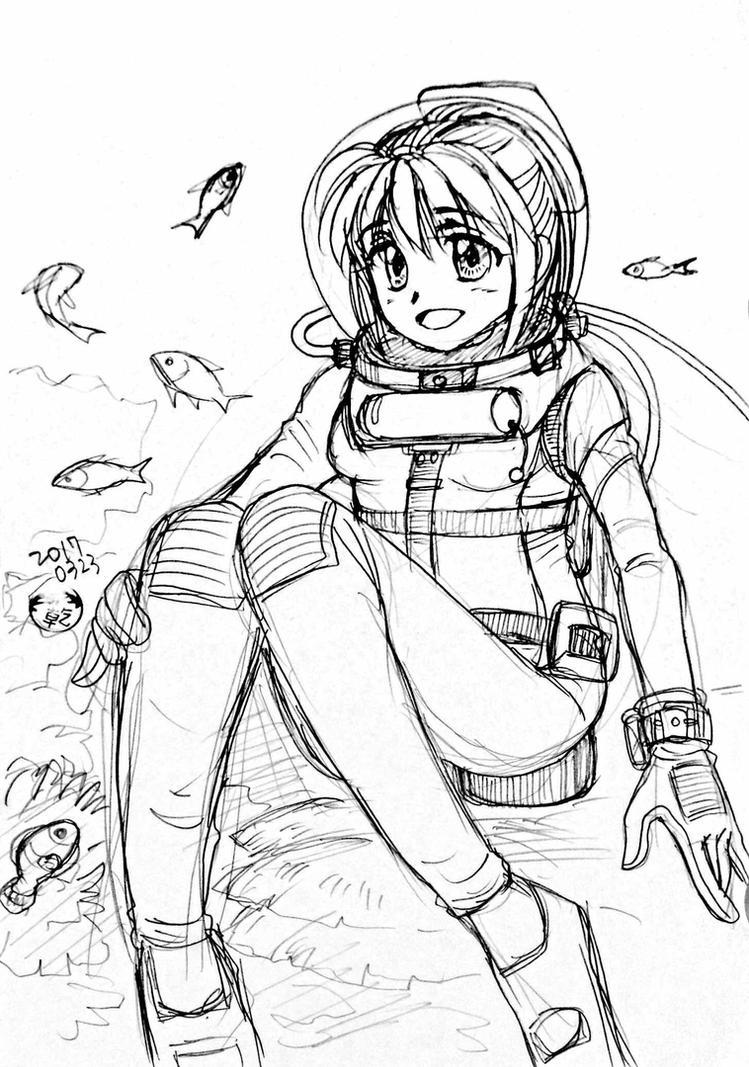 Drawing 03/23-02 by marinaogaeri