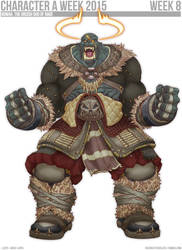 CAW15-8 Ogmah, the Orcish God of Rage