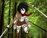 Mikasa Ackerman Color