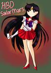 Happy Birthday to Sailor Mars! by persephowone