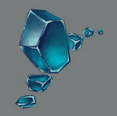 Crystals, the by vertry