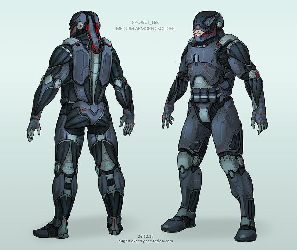 Soldier Project_Tbs Concept Art by vertry