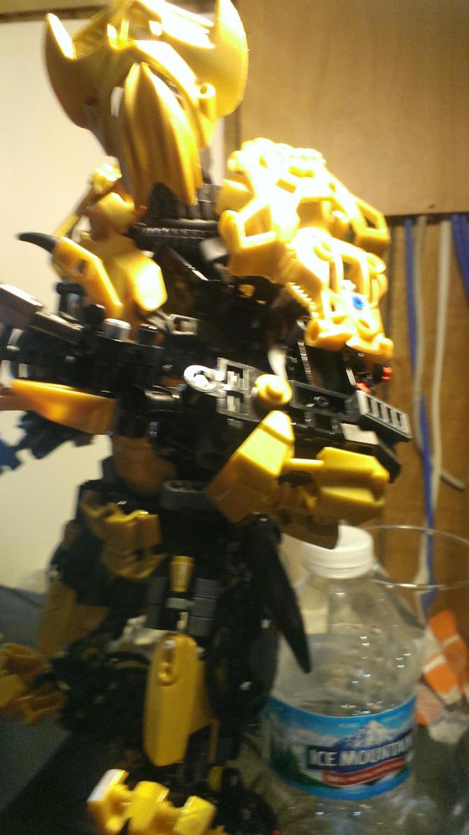 Origins Wip(5)  Arms by LegoMetal44