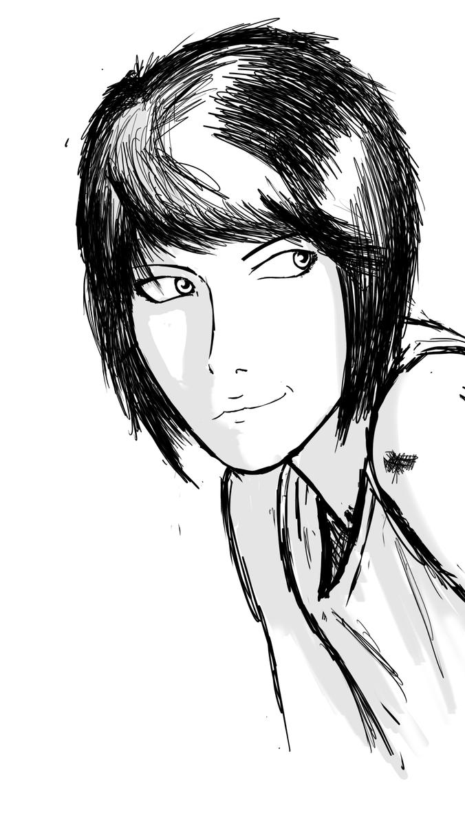 Quick Face Sketch By Bravo9653 On DeviantART