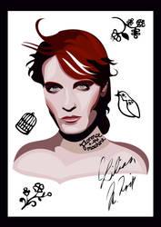 Florence Welsh Vector Portrait