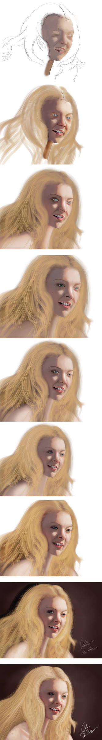 Lucent Beauty of Natalie Dormer Progress