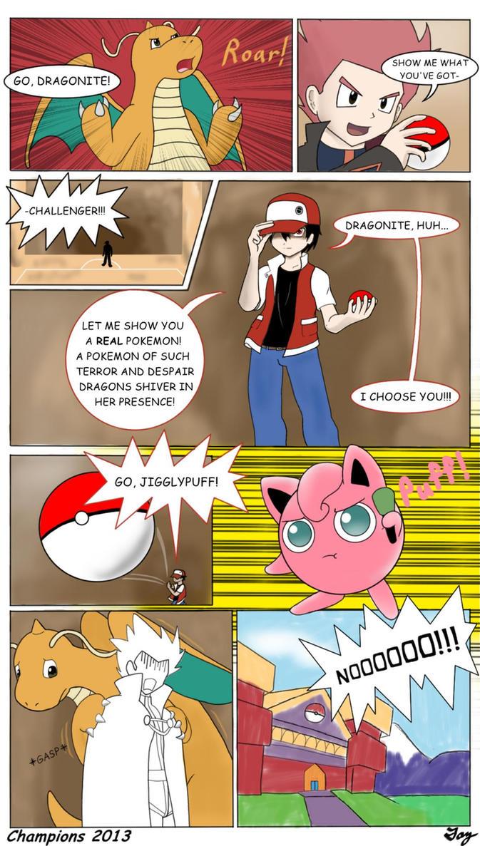 Pokemon Comic - Champions 2013 by MultiTAZker