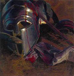 Fallen Soldier Color Render by r-i-u