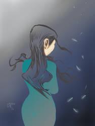 Blue solace dreams
