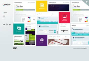 Enlive interactive agency by PapciuZiom