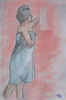 Blue Towel - 20060324