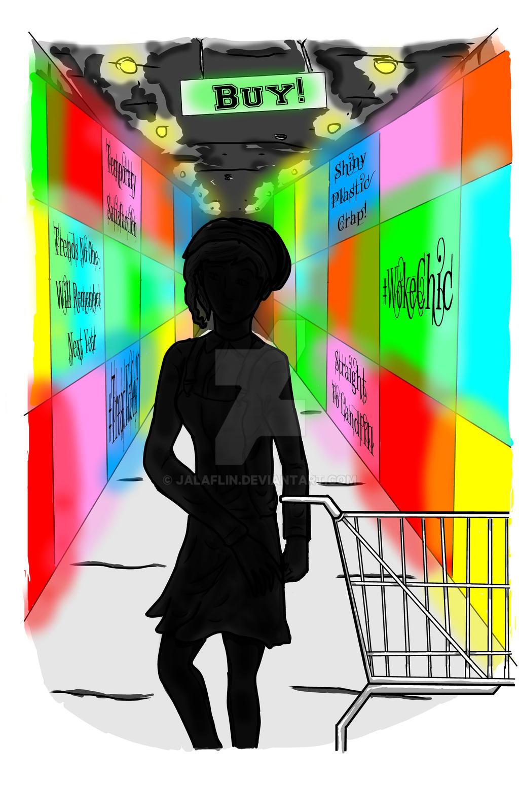 Woke Shopping by JALaflin