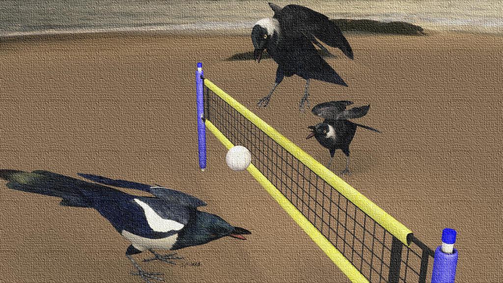 Spiking the Bird by JALaflin