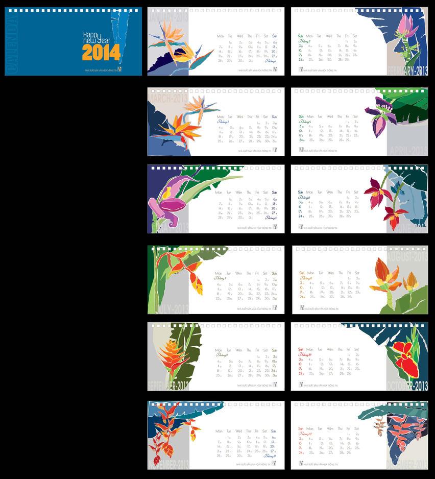 Deviantart Calendar : My calendar table by thanhpham on deviantart