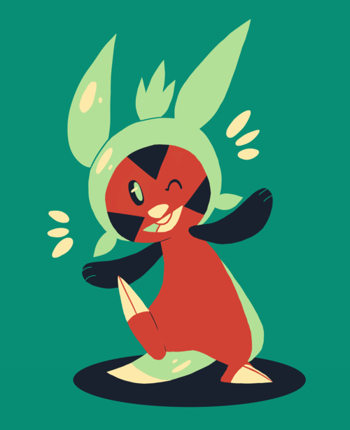 Chespin Palette by SunnyLedian