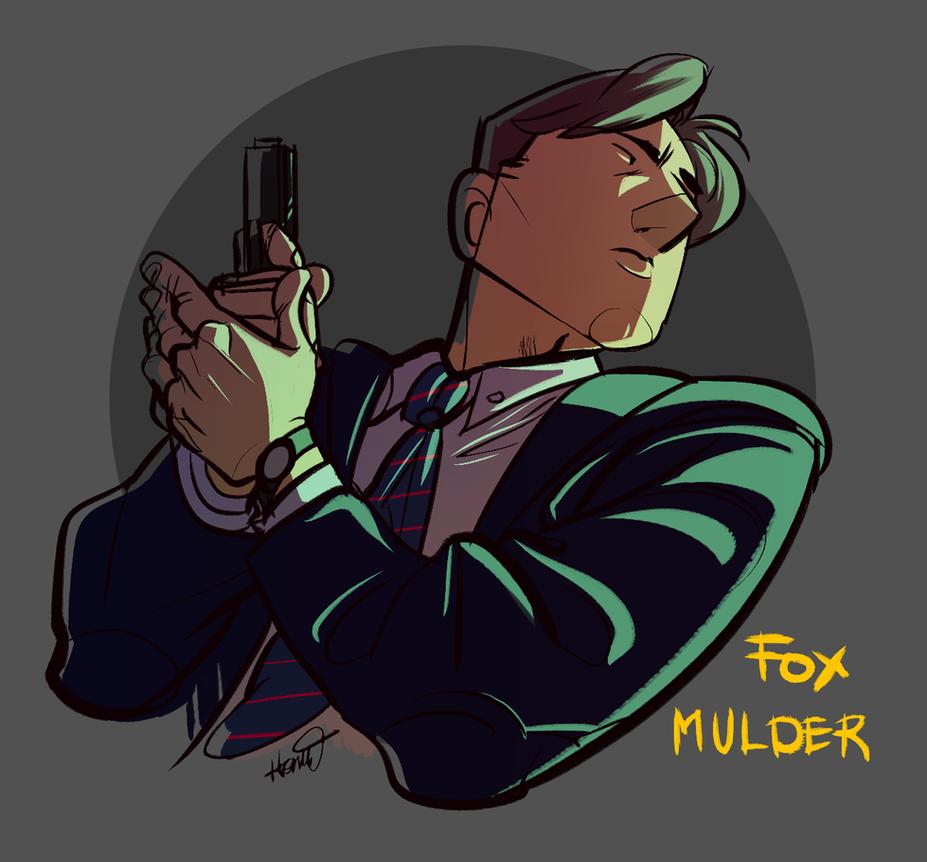 Fox mulder by Hennei