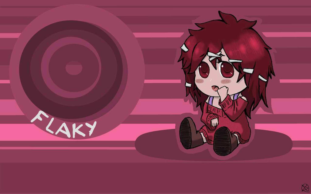 Flaky Wallpaper by ChibiLOL