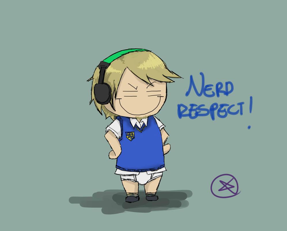 Pewdiepie - Nerd respect! by ChibiLOL