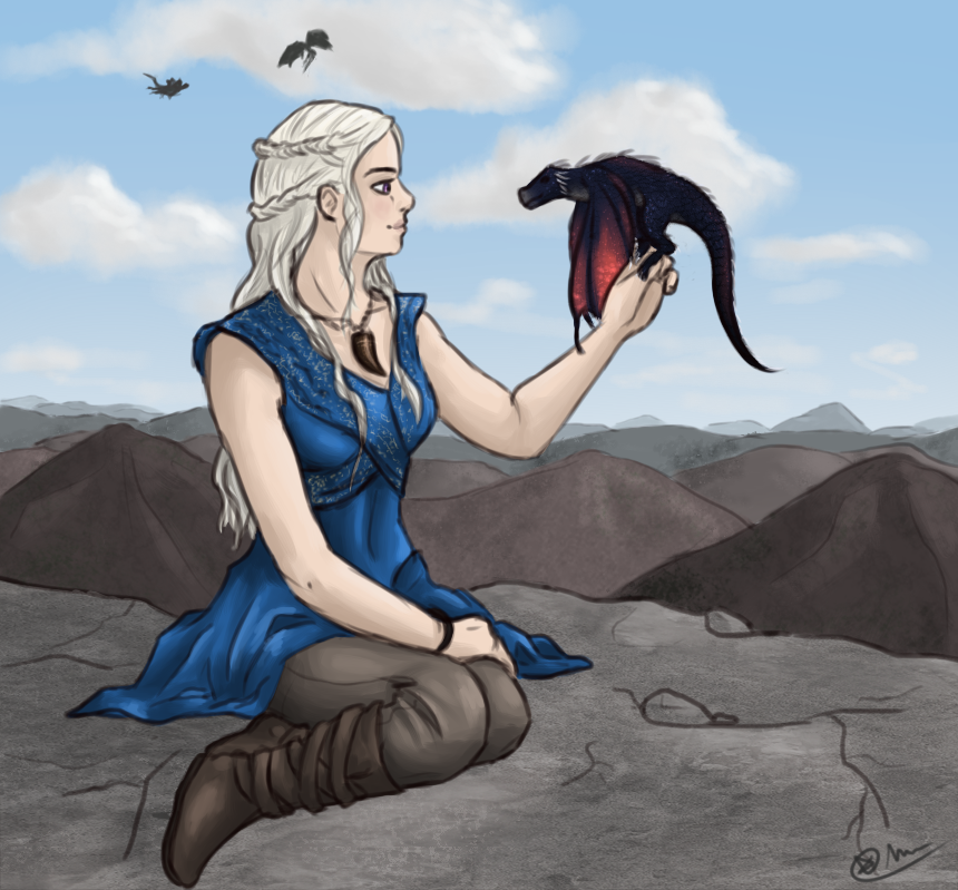 Mother of dragons by ChibiLOL