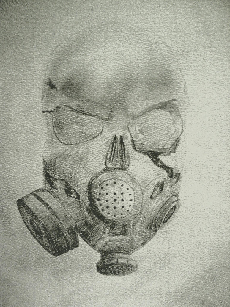 Gas Mask Skull by Danny7293