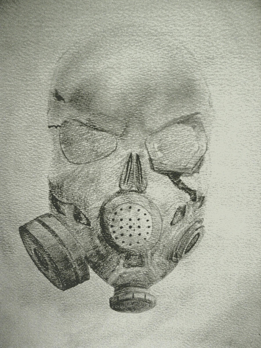 Skull Gas Mask Drawings Skull Gas Mask