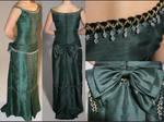 Emerald Victorian Gown