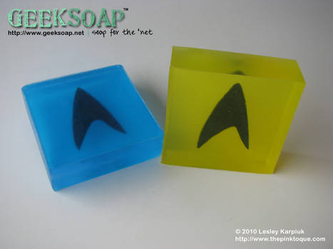 Star Trek GEEKSOAP Geek Soap