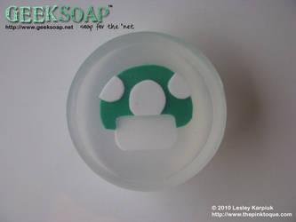 1up Mushroom GEEKSOAP Soap