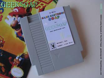 8-Bit Game Cartridge GEEKSOAP by pinktoque