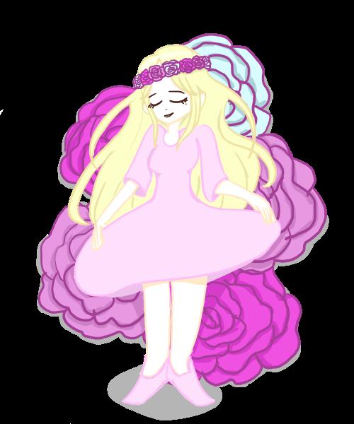 The Flower Girl by Rebecca-Bear7