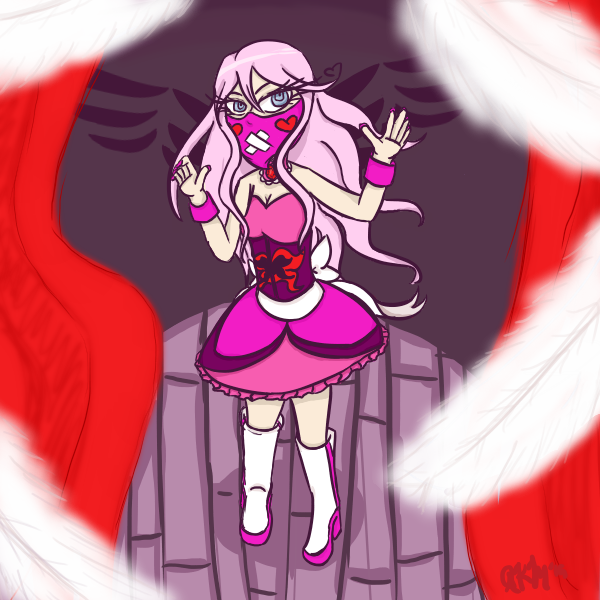 Magical girl OC by Rebecca-Bear7