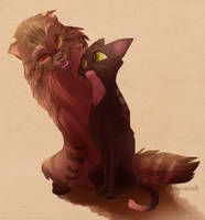 Well done, Ravenpaw! by Dragnohar