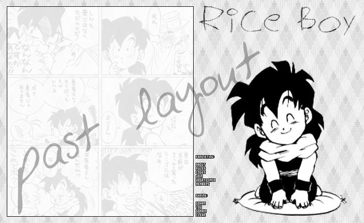 Rice Boy V. 7 by FlowerNinjaA