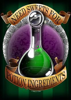 Halloween Potion: Needs Sweets!