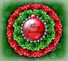 ~*Merry Christmas Rosette*~
