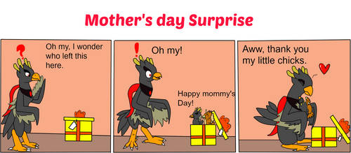 Mother's day surprise by Baumbs
