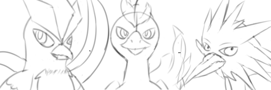 Legendary bird icons (YCH) by Baumbs