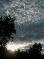 Dappled Sky by JKBH