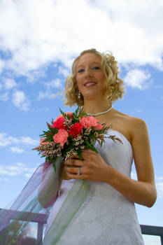 A Bouquet and the Bride