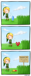 Cutting the grass by xlolfishx