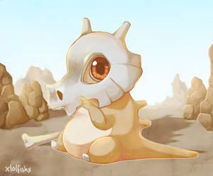 Commission - Cute Cubone