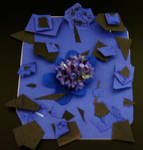 paper flower thing