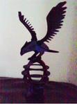Wooden Hawk
