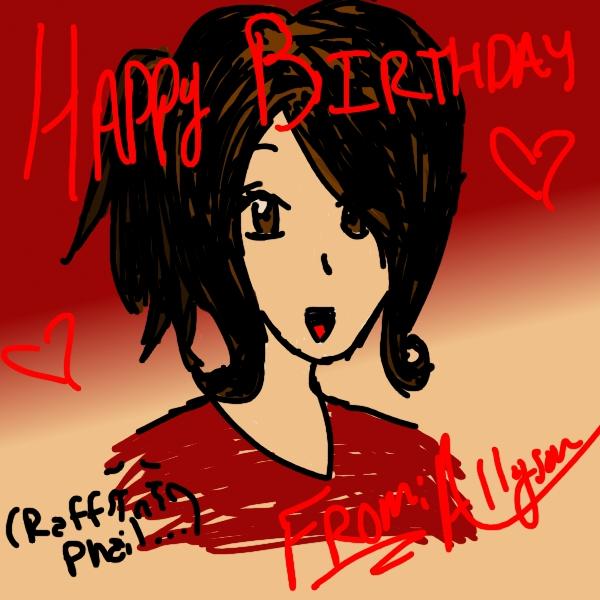 Happy Birthday Sissy By AzeeraTheNinja On DeviantArt